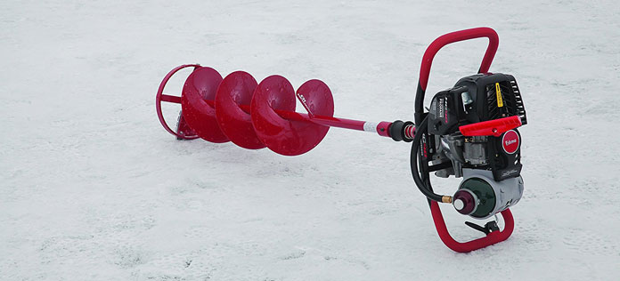 Ice Augers- Propane vs  2-stroke gas vs  4-stroke vs