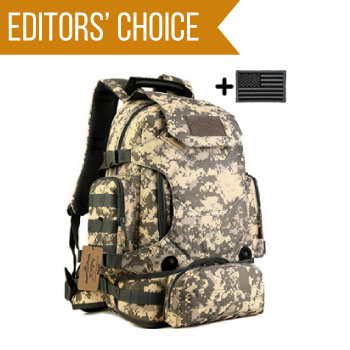 image of ArcEnCiel 40L Waterproof Military bug out bag