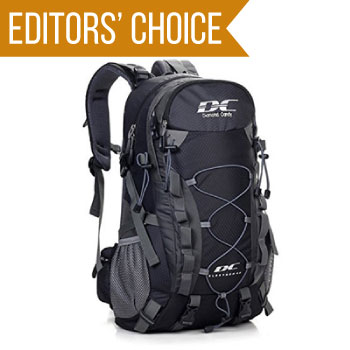 image of Diamond Candy 40L bag with editors' choice banner