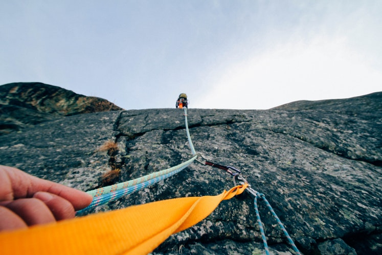 mountain climbing extreme sport